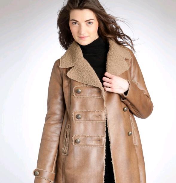 Ένα δερμάτινο παλτό ή μπουφάν αποτελεί ιδανική εκπτωτική επένδυση. 6295e2b31db