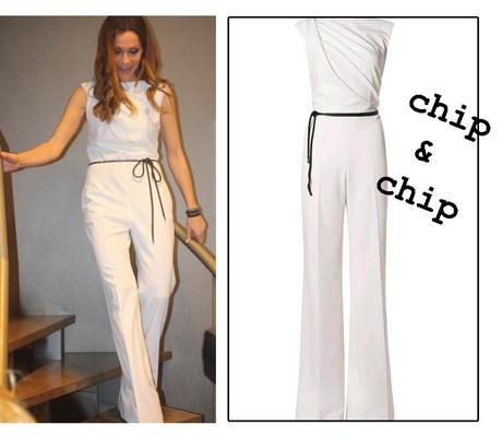 Η Δέσποινα Βανδή δημιούργησε για το Chip & Chip μια σειρά ρούχων και αξεσουάρ με την δική της υπογραφή. Λατρεμένη αποδείχτηκε για το κοινό η λευκή ολόσωμη φόρμα που προτίμησε να φορέσει η ίδια η Δέσπο