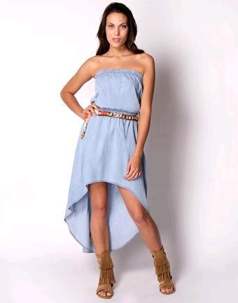 Το ασύμμετρο φόρεμα  η τελευταία λέξη στη μόδα του καλοκαιριού. 731e89d7281