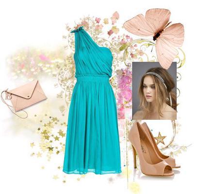 <b>Το φόρεμα με τον έναν ώμο:</b>  Προτίμησέ το φόρεμα σε έντονη απόχρωση και αέρινο ύφασμα. Απόφυγε το στρες φόρεμα με έναν ώμο που δείχνει πιο βραδινό και τίμησε την άλφα γραμμή.   Φόρεμα Mango: 44,