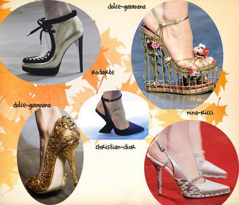 <b>Τα χρώματα και τα υλικά:</b>  Προφανώς, εσύ θα επιλέξεις το χρώμα των παπουτσιών που ταιριάζει με τα ρούχα σου συνολικά. Πάρα ταύτα, καλό είναι να γνωρίζεις πως η παλέτα στα παπούτσια της φετινής σ
