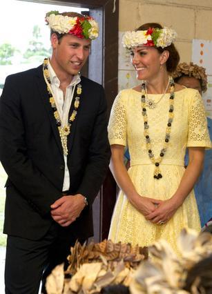 Παρά τα χαμόγελα, το ταξίδι στον Νότιο Ειρηνικό δεν πήγε και πολύ καλά για τους πρίγκιπες...