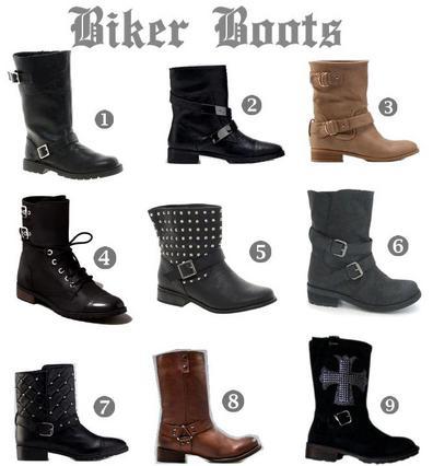 Οι μπότες με το ροκ στυλ και την cool διάθεση!