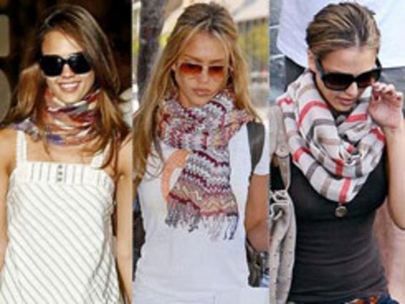 Κάντο όπως η Τζέσικα Άλμπα: ακόμα και την ίδια πασμίνα αν φορούσε θα είχε τρεις διαφορετικές εμφανίσεις!
