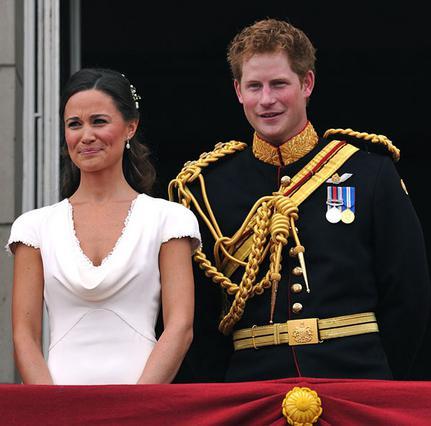 Χάρι & Πίπα  αναλαμβάνουν  τον πρίγκιπα-ανιψιό