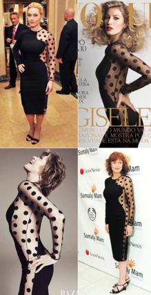 Το μαύρο φόρεμα με τις πουά  λεπτομέρειες από τη Stella McCartney έχουν τιμήσει πολλές σταρ.