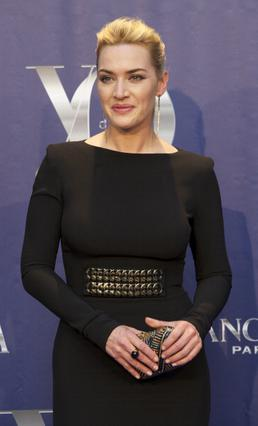 Η Γουίνσλετ στην τελετή Yo Dona στη Μαδρίτη, όπου βραβεύτηκε τον περασμένο Ιούνιο.