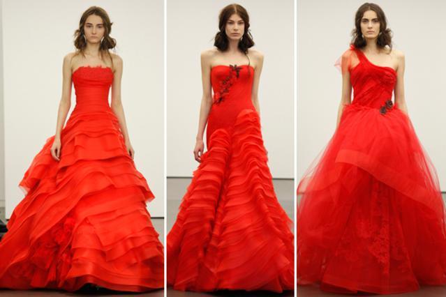 Στα κόκκινα και όποια νύφη αντέξει!