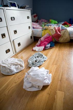 Μόνο φιλόξενη δεν μπορεί να  χαρακτηριστεί μια κρεβατοκάμαρα που έχει αυτή την εικόνα.