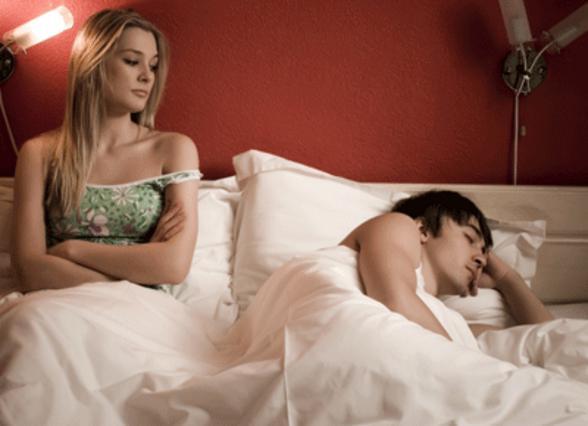 Από σεξ τίποτα, από ύπνο μπόλικο!