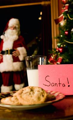 <b> Ας δούμε επιγραμματικά τι γευματίζει o Άγιος Βασίλης, Santa Claus, Christkind ή όπως αλλιώς λέγεται ο Άγιος που φέρνει τα δώρα του νέου χρόνου σε διάφορες χώρες του κόσμου: </b>  <span style= colo