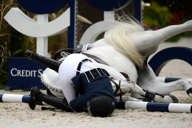 Αθηνά Ωνάση: Το ατύχημα & ο θάνατος του αλόγου της