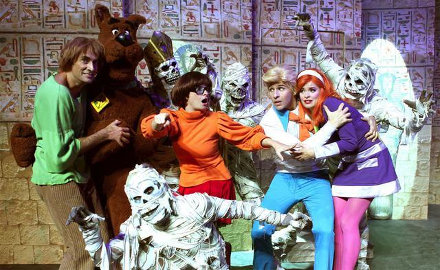 Ο Scooby-Doo καταλαμβάνει τη σκηνή του Παλλάς!