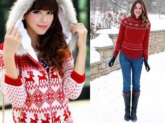 Ελαφάκια, νυφάδες χιονιού, σλόγκαν, εσύ αποφασίζεις τι θα έχει το δικό σου σούπερ χριστουγεννιάτικο πουλόβερ!