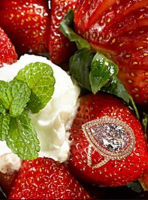 <h4>Φραουλίτσες πολύτιμες: Strawberries Arnaud</h4>  <p><strong>Πόσο κοστίζει: </strong>1,2 εκατομμύρια ευρώ</p>  <p><strong>Που πωλείται;</strong> Νέα Ορλεάνη Λος Άντζελες</p>  <p><strong>Γιατί