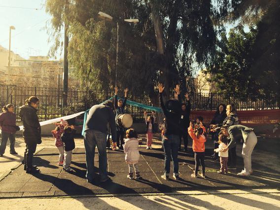 Παιχνίδι και μάθηση στις παιδικές χαρές της Αθήνας [επιτέλους κάτι πρωτότυπο]