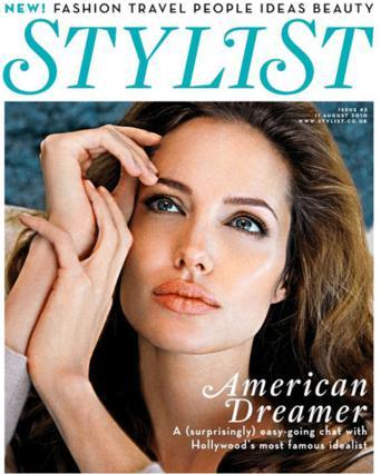 Εντυπωσιακή η Τζολί στο  εξώφυλλο του  Stylist