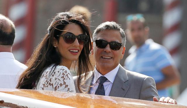 Δες πώς ο γάμος κιτρίνισε (!) την Αμάλ Αλαμουντίν