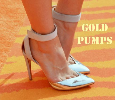 Tα χρυσά γοβάκια και πώς θα τα φορέσεις