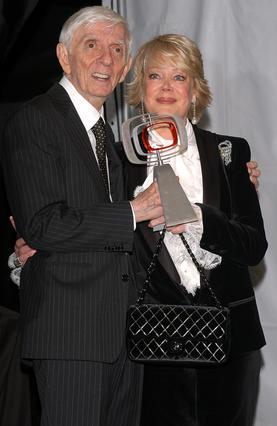 Ο Άαρον Σπέλινγκ με τη σύζυγό του, Κάντι
