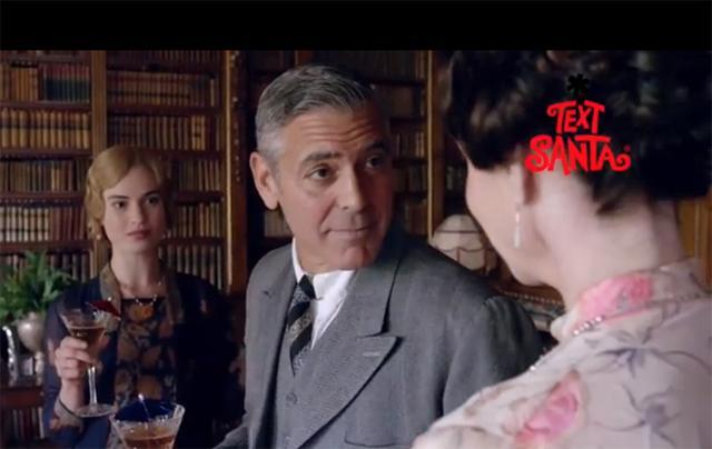 Τι κάνει ο Τζορτζ Κλούνεϊ στο Downton Abbey;