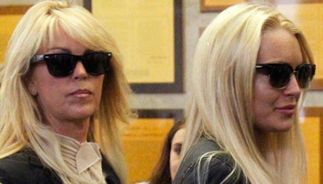 Τελικά η Ντίνα Λόχαν παραδέχτηκε ότι η κόρη της είναι τοξικομανής