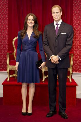 Με αφορμή τη συμπλήρωση ενός χρόνο από τον γάμο τους η μαντάμ Τισό έκανε τους πρίγκιπες... κέρινους, σε μια πραγματικά πολύ επιτυχημένη αποτύπωση.