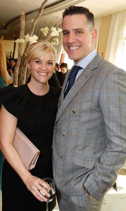 Η Ρις με τον σύζυγό της, Τζιμ Τοθ.