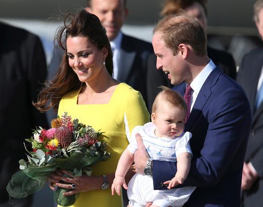 Με φόρεμα στην Αυστραλία ο πρίγκιπας Γεώργιος!;