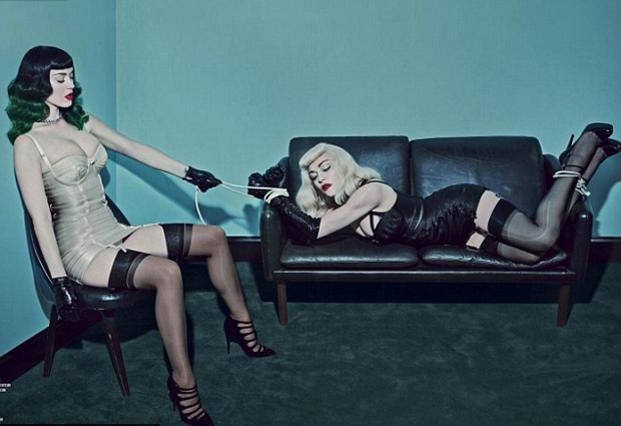 Μαντόνα & Κέιτι Πέρι σε σαδομαζό παιχνιδάκια!