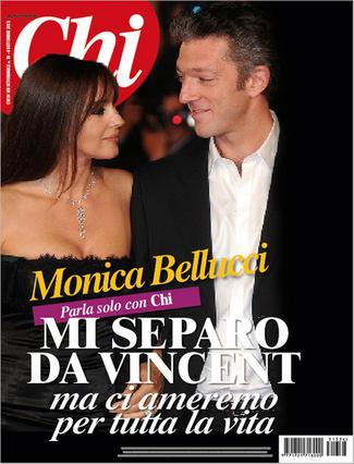 To περιοδικό  Chi  φιλοξενεί τις πρώτες δηλώσεις της Μόνικα