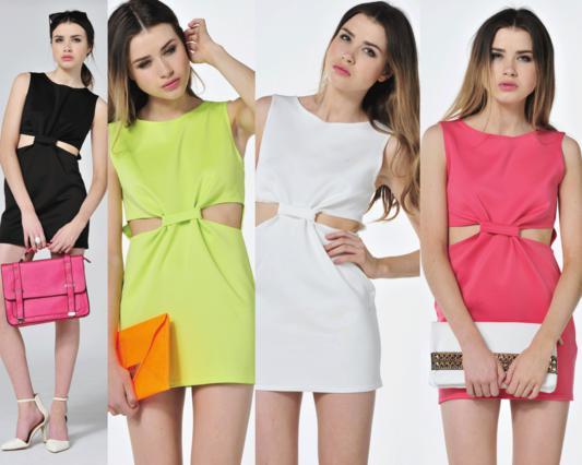 To φόρεμα των πέντε ευρώ θα το βρεις σε 4 χρώματα.