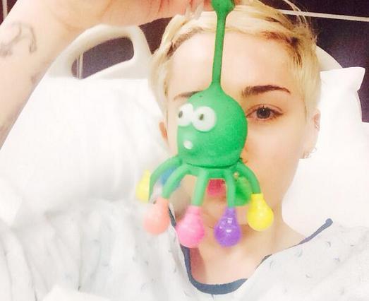 Στο νοσοκομείο η Μάιλι Σάιρους