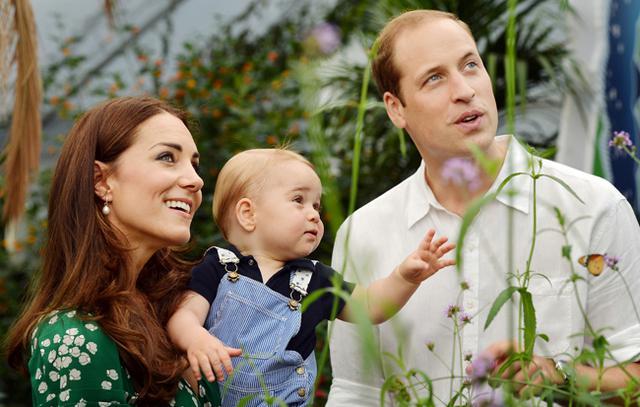 Κέιτ, Γεώργιος και Γουίλιαμ. Σε λίγους μήνες ακόμη ένα μέλος θα προστεθεί στην οικογένειά τους. Με το καλό...