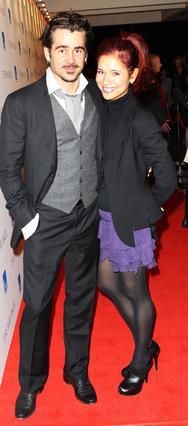 Ο Κόλιν Φάρελ με την αδελφή του, επίσης ηθοποιό, Κλοντίν.