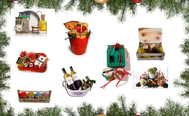 Τέλεια χριστουγεννιάτικα δώρα όλο γεύση