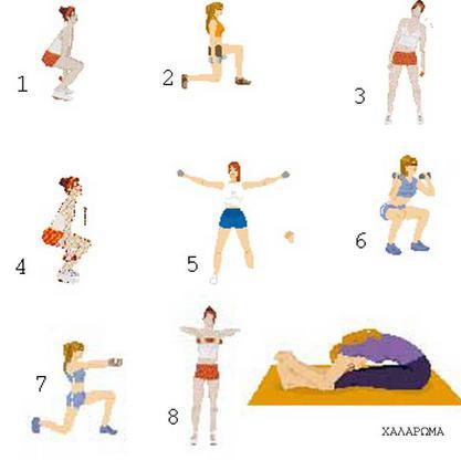 Κάθε εικόνα αντιστοιχεί  σε κάθε άσκηση!