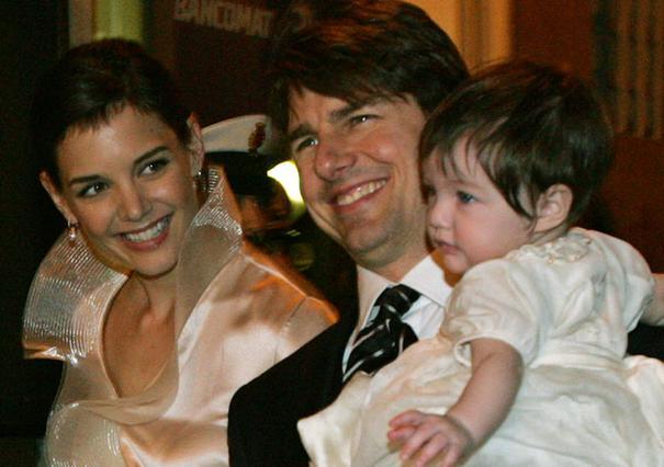 Η Κέιτι Χολμς και ο Τομ Κρουζ την ημέρα που βάφτιζαν τη Σούρι