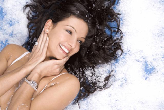 Μάθε τα μυστικά για σούπερ σέξι  μαλλιά και στα χιόνια!