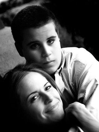 Η Κέλι Πρέστον με τον γιο  της Τζετ.
