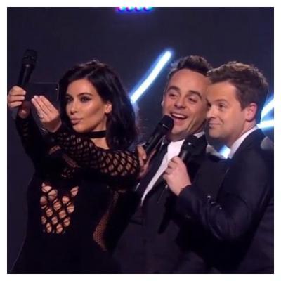 Η <b>Κιμ Καρντάσιαν</b> (Kim Kardashian) φόρεσε τα <b>διχτυωτά</b> της και ανέβηκε στη σκηνή των χθεσινών Brit Awards για να δώσει στον Σαμ Σμιθ (Sam Smith) Global Success Award, αλλά και να παρουσιάσ