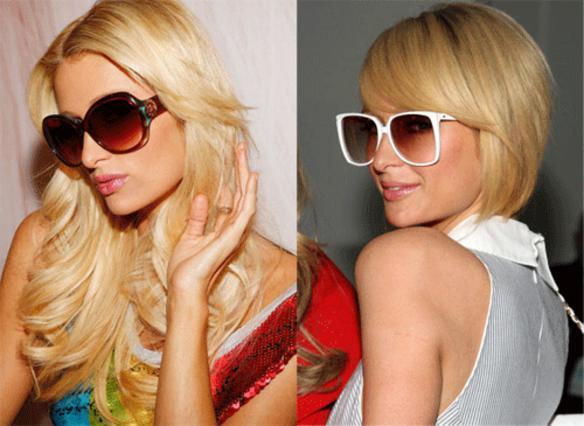 Η Πάρις Χίλτον αλλάζει γυαλιά όποτε  αλλάζει και κούρεμα και εντυπωσιάζει κάθε φορά με τους πολύχρωμους σκελετούς  που διαλέγει!