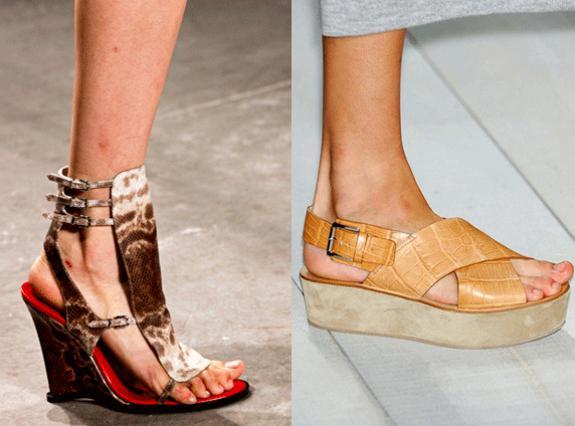 a20f1a93b249 Οι τάσεις στα παπούτσια για την Άνοιξη Καλοκαίρι 2011