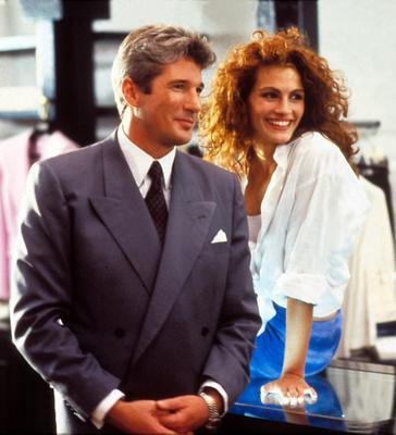 """<p>Η ταινία """"Pretty Woman"""" του 1990 άφησε εποχή, εκτινάσσοντας, ταυτόχρονα και την πρωταγωνίστριά του στη... στρατόσφαιρα της διασημότητας.</p>  <p>Ο Ρίτσαρντ Γκιρ (Richard Gere) και η Τζούλ"""