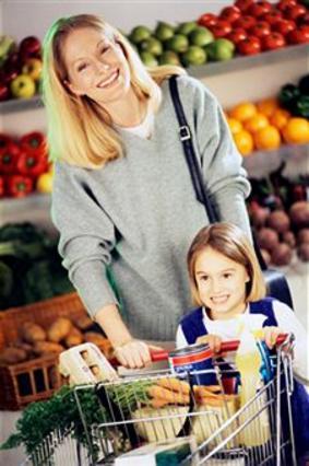 Τα παιδιά μπορούν να έρθουν μαζί  σου για ψώνια, αρκεί να μην είναι  κουρασμένα!