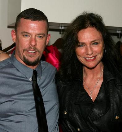 Με την Ζακλίν Μπισέ το 2008 στο Λος Άντζελες.