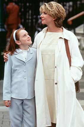 Με την Λίντσεϊ Λόχαν στην ταινία ταινία  The Parent Trap