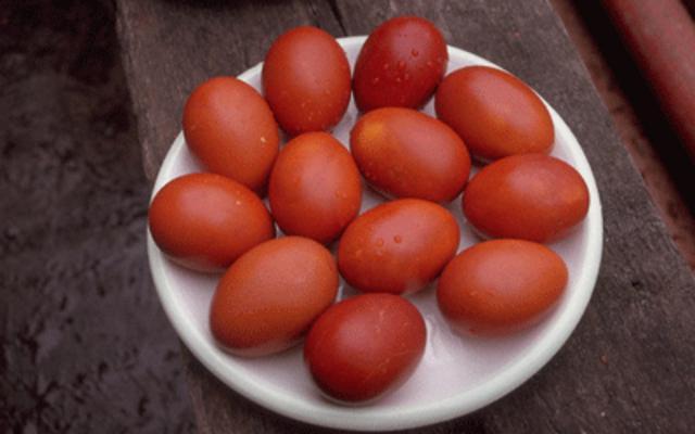 Τέλεια κόκκινα αυγά