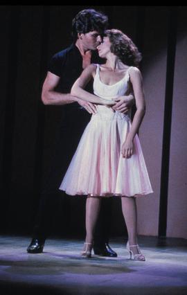 Το 1987, ο Σουέζι με την Τζένιφερ Γκρέι στο  Dirty Dancing .