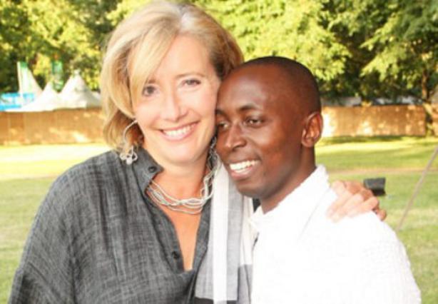 Η Έμα Τόμσον και ο 22χρονος υιοθετημένος γιος της Τιντεμπούα Άγκαμπα